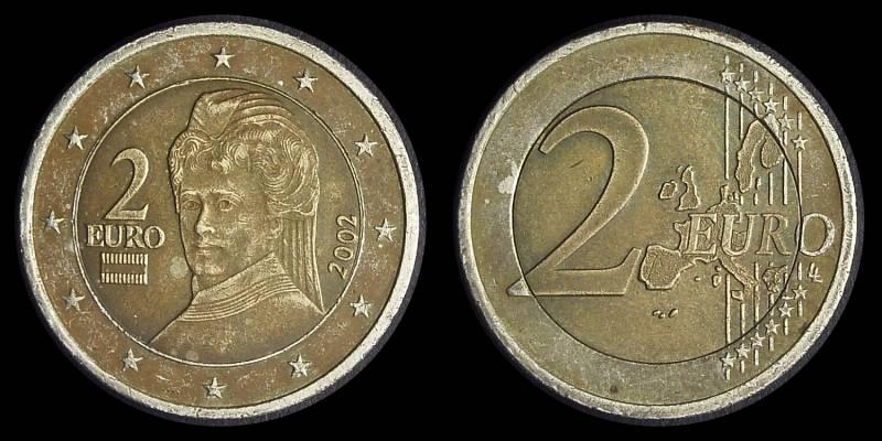 Fälschung Oder Variante 2 Euro At 2002